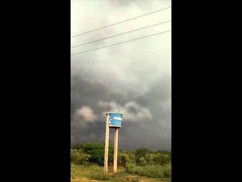 Grand chuva em Caridade do Piauí