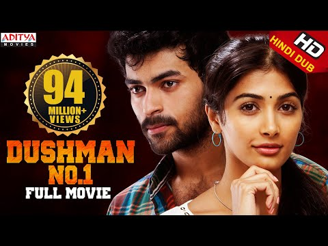 Dushman No.1 Hindi Dubbed Full Movie (MUKUNDA) | New Released Movie | Varun Tej, Pooja Hegde