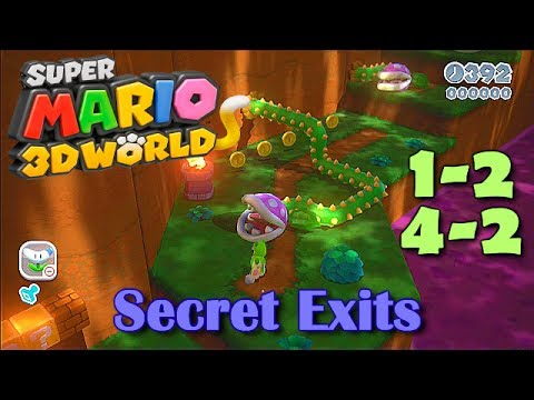 3d - Here's the video of the more advanced shortcuts! http://www.youtube.com/watch?v=z5kqKK-Ffn0 This video shows the two secret exits in Super Mario 3D World on ...