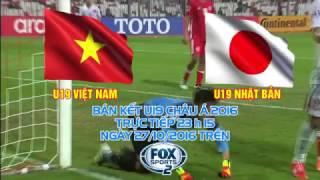 U19 Việt Nam vs U19 Nhật Bản - Bán kết U19 Châu Á 2016