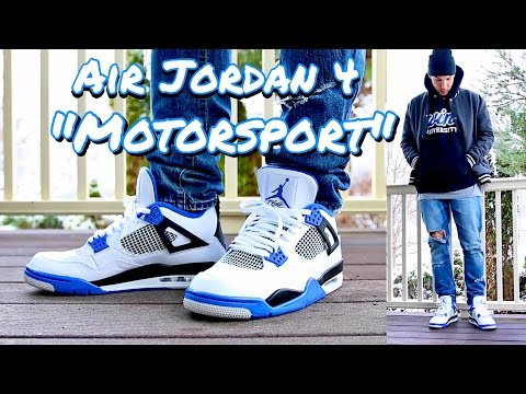 """HOW TO STYLE - AIR JORDAN RETRO 4 IV """"MOTORSPORT"""" - ON FEET & OUTFIT"""