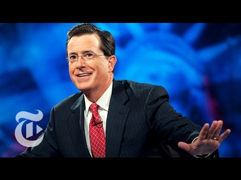 Stephen - On his late night show on Comedy Central, Stephen Colbert made fun of news, and he made news. New York Times journalists bid farewell to the blow-hard character he created. Produced by: Axel...