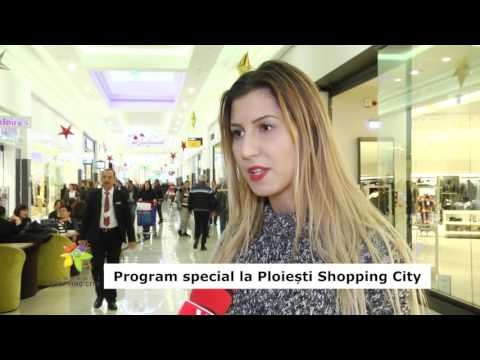 Program special la Ploiești Shopping City