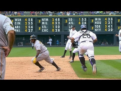 Harrison - 7/27/14: The Rockies challenge Josh Harrison stealing second safely and after review, the call stands in the 6th inning Check out http://m.mlb.com/video for our full archive of videos, and...
