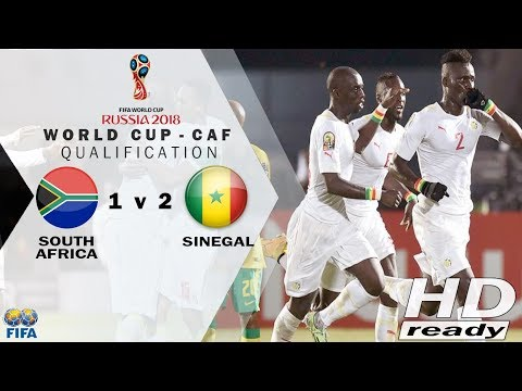 South Africa vs Senegal 0-2 - Goals & Highlights ♦ World Cup - Qualification 10/11/2017