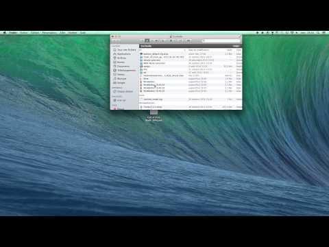 comment ouvrir exe sur mac
