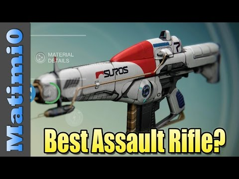regime - Today I take a look at my favorite auto rifle in Destiny, the Suros Regime. Enjoy! Follow me on Twitter: https://twitter.com/Matimi0 Follow me on Facebook: h...