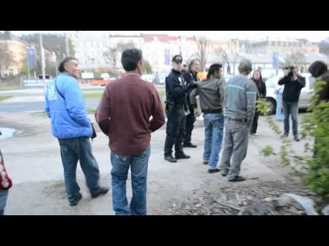 Noční hlídka s policií na Praze 8