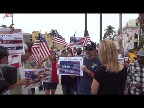 Ventura, CA Flag Rally