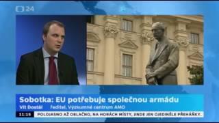 Sobotka a Zaorálek na poradě velvyslanců