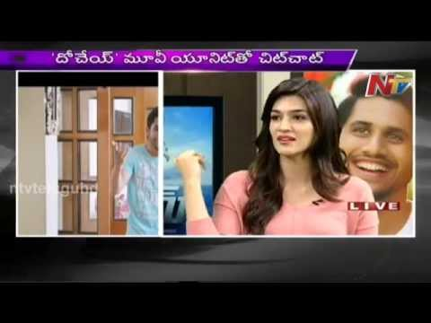 Special Chit Chat with Dohchay Movie Team Naga ChaitanyaKriti Sanon _