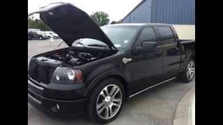SOLD.2007 FORD F-150 HARLEY DAVIDSON EDITION ROUSH SUPERCHARGED CALL 888-439-8045 FOR DETAILS
