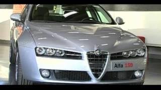 Alfa Romeo History - Alfa 159 - Brera