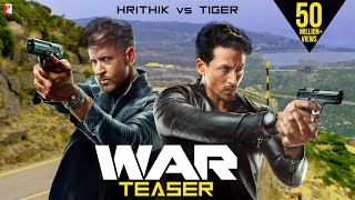War | Official 4K Teaser | Hrithik Roshan | Tiger Shroff | Vaani Kapoor | Releasing 2 Oct