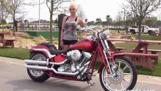 4. Used 2007 Harley Davidson CVO Softail Springer Motorcycles for sale in FL