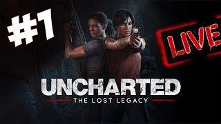 Uncharted The Lost Legacy, em Português PT-BR. DLC Standalone do jogo Uncharted 4: A Thief's End. TWITTER...