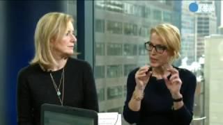 Gillian Anderson & Jennifer Nadel FB Live for USA Today Life