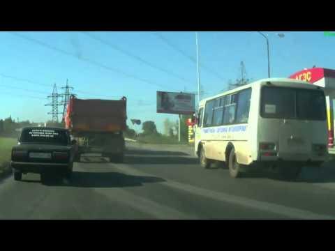 Авария с камазом г.Набережные Челны