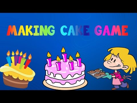 Cooking Games For Kids | Make A Cake | Friv