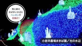 そばっちと行く小岩井ウィンターイルミネーション~銀河農場の夜~