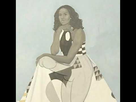 Michelle Obama Portrait Meme