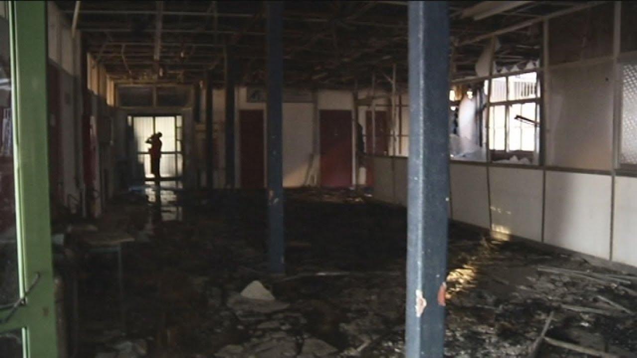 Πανεπιστήμιο Κρήτης: Από χαμηλότερους ορόφους στο κτίριο της εστίας ξεκίνησε η φωτιά