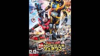 Kamen-Rider X Kamen-RiderGhost-Drive Movie Wars Genesis Poster