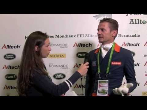 WEG dressage grand prix: Edward Gal talks to H&H [VIDEO]