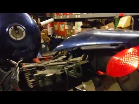 2000 Triumph TT600 PART OUT!