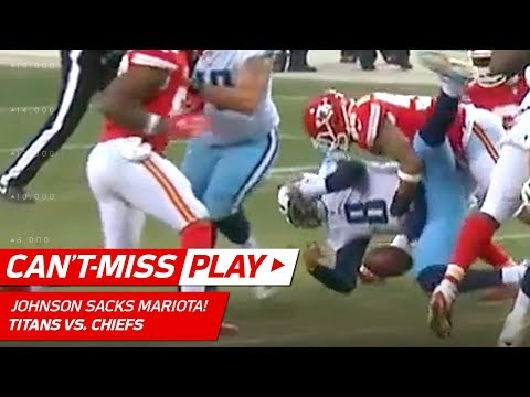 Video: Derrick Johnson Buries Marcus Mariota w/ Drive-Ending Sack! | Can't-Miss Play | NFL Wild Card HLs