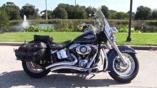 7. Used 2012 Harley Davidson FLSTC Heritage Softail Classic