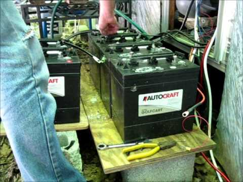 Installing My New RV Solar Batteries And Power System