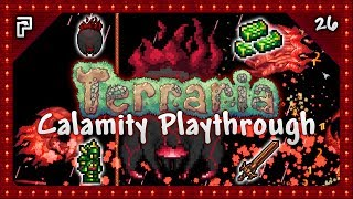 """🌳 Terraria Calamity Mod - Gathering Draedon Bars to make new weapons and armour and taking on Calamitas!⭐️ Subscribe For More! - http://www.tinyurl.com/PythonGB⭐️ Python's Patreon Page - https://www.patreon.com/PythonGB⭐️ (AD) Powered by Chillblast! Check out the epic looking Python PC I'm using here - http://tinyurl.com/PythonPC● Follow me on Twitter - http://www.twitter.com/PythonGB● Check out my 2nd channel - http://www.youtube.com/PythonGB2● Follow me on Twitch - http://www.twitch.tv/PythonGB● Check out my website - http://www.pythongb.com/--------------------------------------------------------------------------------★ Terraria Calamity Playthrough Series Playlist (Keep up to date!)http://tinyurl.com/TerrariaCalamity★ More Of My Content● Minecraft Survival Let's Play - http://tinyurl.com/gluv86v● Skyrim Special Edition - http://tinyurl.com/SkyrimSELP● Terraria Ranger Playthrough - http://tinyurl.com/TerrariaRanger● Hermitcraft Season 4 - http://tinyurl.com/HermitcraftS4--------------------------------------------------------------------------------♬ Background Music● INTRO - """"Boss 2""""Above music is by Scott Lloyd Shelley● Vol 1 - https://re-logic.bandcamp.com/album/terraria-soundtrack● Vol 2 - https://re-logic.bandcamp.com/album/terraria-soundtrack-volume-2● Vol 3 - https://re-logic.bandcamp.com/album/terraria-soundtrack-volume-3-2"""