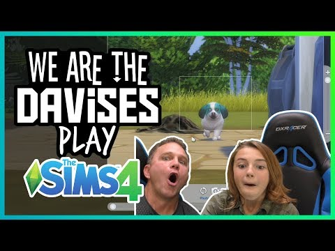 Our Dog Is Famous | Sims4 Ep-2 |we Are The Davises Gaming
