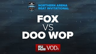 Fox vs Doo Wop, game 1