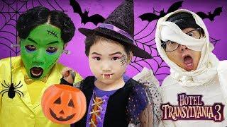 Video 할로윈 페이스페인팅 놀이 해봤어요! 몬스터 호텔 3 친구들과 여름휴가를 떠나봐요! 어린이 애니메이션 영화 Halloween Kids Makeup MP3, 3GP, MP4, WEBM, AVI, FLV Desember 2018