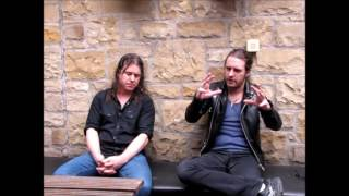 Airbourne UK Interview with Joel O'Keeffe & Dave Roads, Edinburgh 26th July 2016!