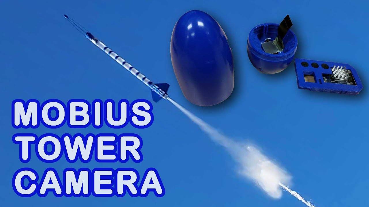Water Rocket Mobius Tower Camera Video