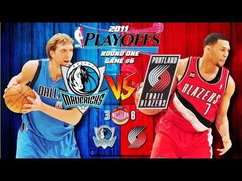 DALLAS MAVERICKS @ PORTLAND TRAIL BLAZERS | GAME 6 | 2011 NBA PLAYOFFS [APRIL 28th 2011][4.28.11]