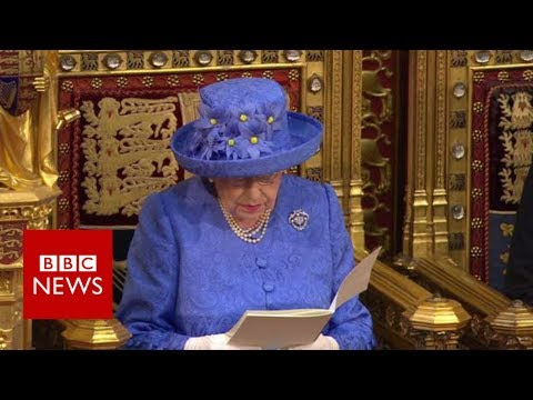 Live: State Opening Of Parliament, The Queen's Speech- Bbc News