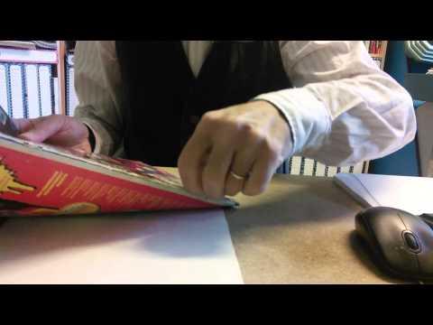 RetroEdicola Videoludica - come preparare la rivista per lo scan - togliere le spille: parte 1