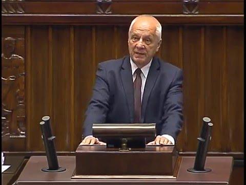 """Stefan Niesiołowski: """"To, że w Biblii nic o Kaczyńskim nie ma to dlatego, że Mojżesz był uchodźcą"""""""