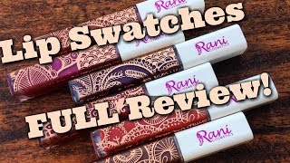 I have SO much information for you about the brand NEW Rani Cosmetics Sparked Dazzling LIQUID Lipsticks (www.ranicosmetics.com)! We'll talk cost, value, texture, ingredients, and MORE! I'll also show you lip swatches of the liquid lipsticks AND what they look like paired with their Sparked Dazzling Lipstick counterpart. Oh, and I'll also give you my full review too ;)----------------------------Thanks for subscribing to my channel (https://www.youtube.com/subscription_center?add_user=jenluvsreviews) ! I specialize in thorough makeup reviews (Monday, Wednesday, Friday) that give you WAY more than the typical YouTube review including ingredient analysis, close up finger/brush swatches, and MORE! You'll also find What's Up in Makeup (Sunday) and the Makeup Minute (Monday-Friday) giving you the most UP TO DATE information about what is happening in the beauty industry, new product releases and MORE!FTC: This is NOT a sponsored video. These products were sent to me for review purposes, but I am not being paid to do this review, and I do not benefit from sales of this product. I would consider Eshani a friend of mine, but, if you know her, you know how much she values HONESTY! So that's what this video will give you!*******************Visit our AWESOME Facebook Community! https://www.facebook.com/groups/whatsupinmakeup/*******************Instagram: jenluvsreviewsPeriscope: jenluvsreviewsTwitter: http://www.twitter.com/jenluvsreviews*******************Many YouTubers have inspired my choices for how I create content. Below are the people that have made the biggest impact!EmilyNoel83https://www.youtube.com/user/emilynoel83Stephanie Nicolehttps://www.youtube.com/user/MsStephNicEshani at TotalMakeupJunkie101https://www.youtube.com/user/TotalMakeupJunkie101Tati at GlamLifeGuruhttps://www.youtube.com/user/GlamLifeGuruCassie from Thrift Thickhttps://www.youtube.com/user/thriftthickPhilip DeFrancohttps://www.youtube.com/user/sxephil************************Music used in my videos:O