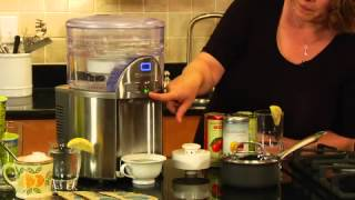 CleanWater® 2 Gallon Countertop Filtration System Demo Video Icon