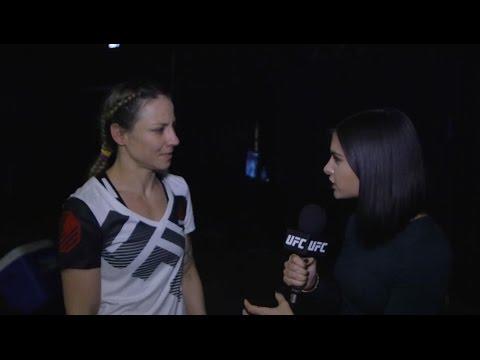Fight Night Phoenix: Nina Ansaroff Backstage Interview (видео)