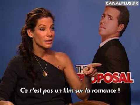 Sandra Bullock talks about a comedy