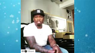 """50 Cent Reacts To Vivica Fox Calling Him PG13 In Bed, """"If This Was A Man Yall Would Call Him Weird"""""""