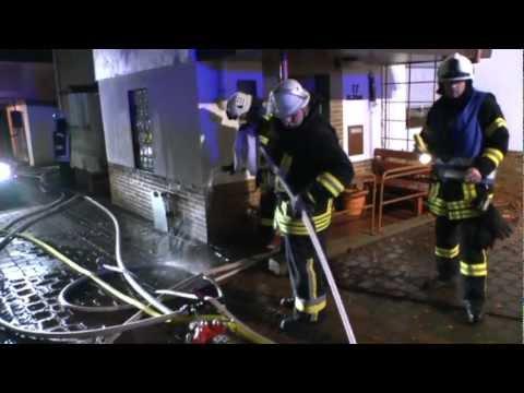 Wildungen: Wohnhaus in der Altstadt brennt