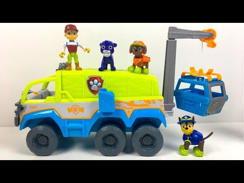 PAW TERRAIN VEHICLE FROM THE PAW PATROL  &  ADVENTURE BEACH TOWER