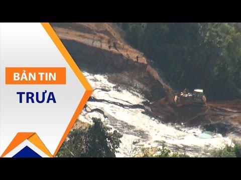Vỡ đập bùn thải: Điều tra xí nghiệp Suối Bắc | VTC - Thời lượng: 2 phút, 44 giây.
